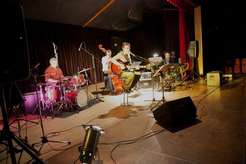 Le Kool Jazz Quartet sur scène
